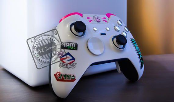 Custom Xbox One Elite Controller Overwatch D VA DVA with