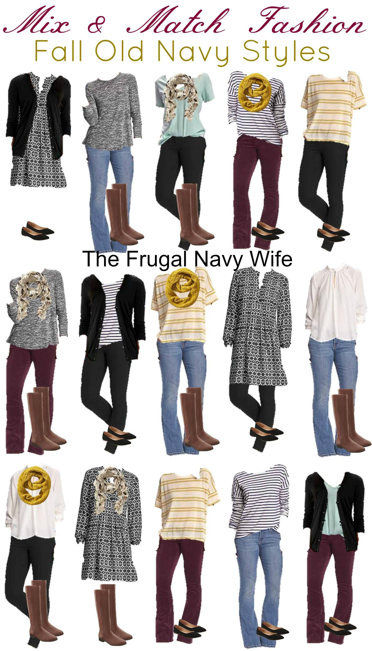 Ideas outfits for women - Mix Match Women S Fall Old Navy Vertical
