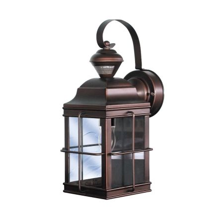 Heath Zenith New England Motion Activated Carriage Lantern