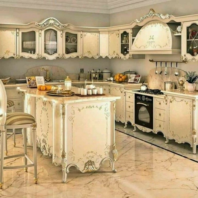 48 Extraordinary Fancy French Country Dining Room Design
