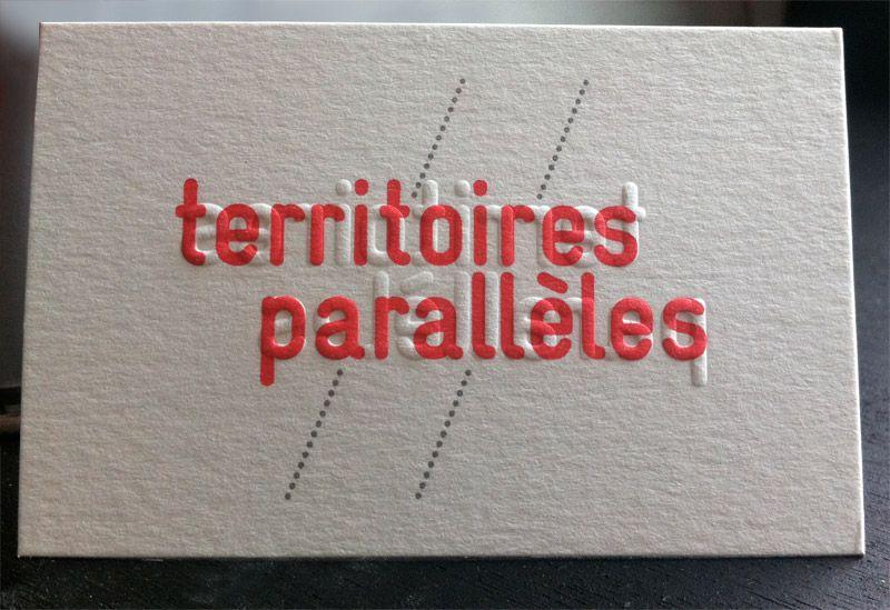 Impression Carte De Visite 85 X 55 Cm Dbossage 2 Couleurs R V Gaufrage Sur Papier Duplex 300g Design Par Julien Roques Badcass