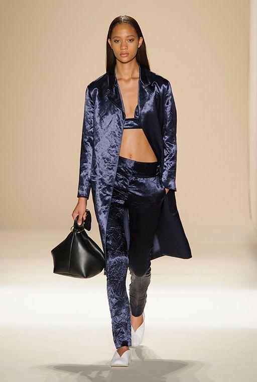 Нью-Йоркская неделя моды: Victoria Beckham, весна-лето 2017, Buro 24/7