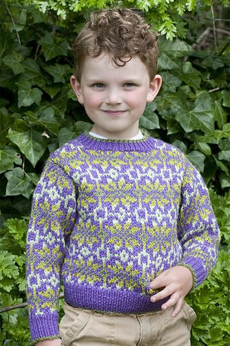 Ravelry: Childs Fair Isle Pullover pattern by Melissa Leapman ...