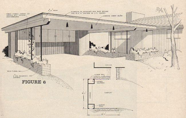 Australian Modern Saltbush Avenue Modern Carport Carport Designs Mid Century Exterior