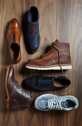 0c54e277e9bd Red Wing  Classic Moc  Boot Though I wish I knew what the other shoes in  the photo are.