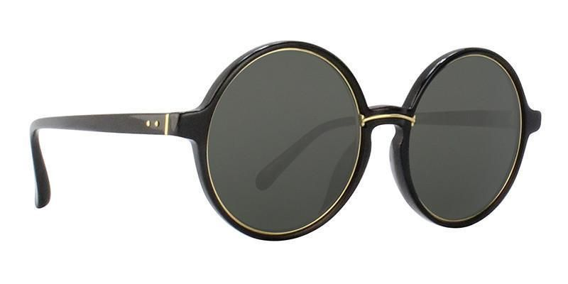 7546cb9b279 Linda Farrow - LF650 Black - Gray sunglasses