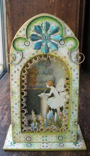 Little fairy altered altoid tin