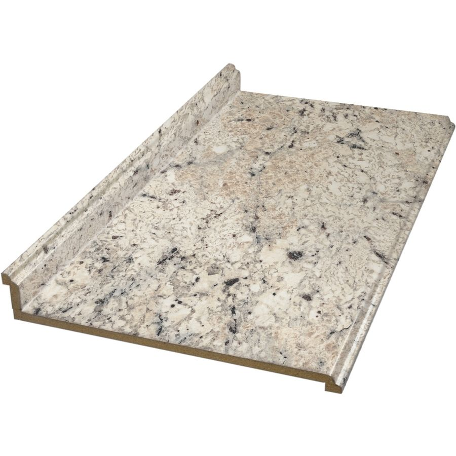 Shop BELANGER Fine Laminate Countertops 6 Ft Ouro Romano Straight Laminate  Countertop At Lowes.
