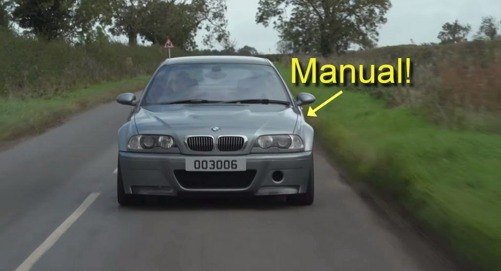 A BMW M3 CSL With A Manual Transmission Is The Greatest M Car In The World