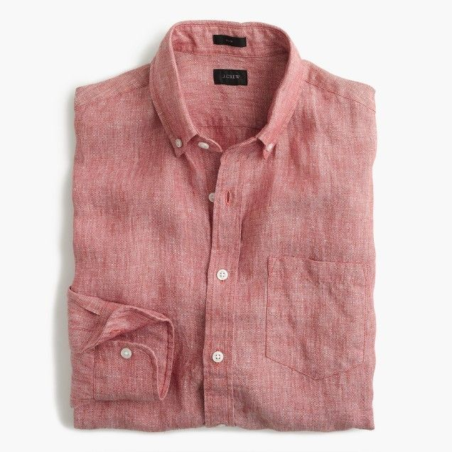 b2603e7340eea JCrew slim linen shirt-Casual summer shirts for men. Summer wear ...