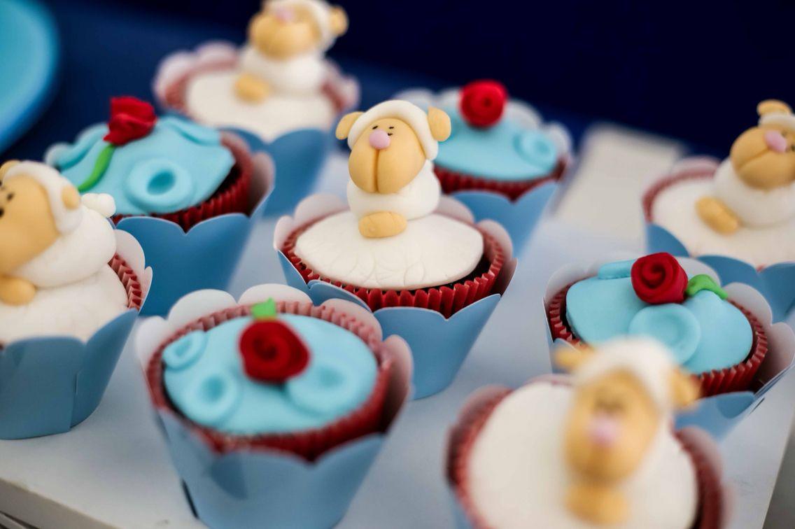 Cupcakes para a festa se 1 aninho do Arthur - O Pequeno Príncipe