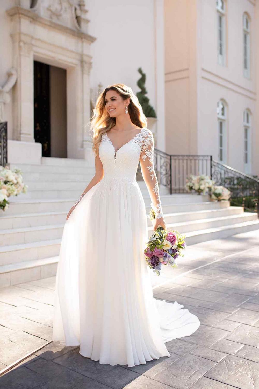 Top 17 Wedding Dress Simple And Easy  Hochzeitskleid einfach