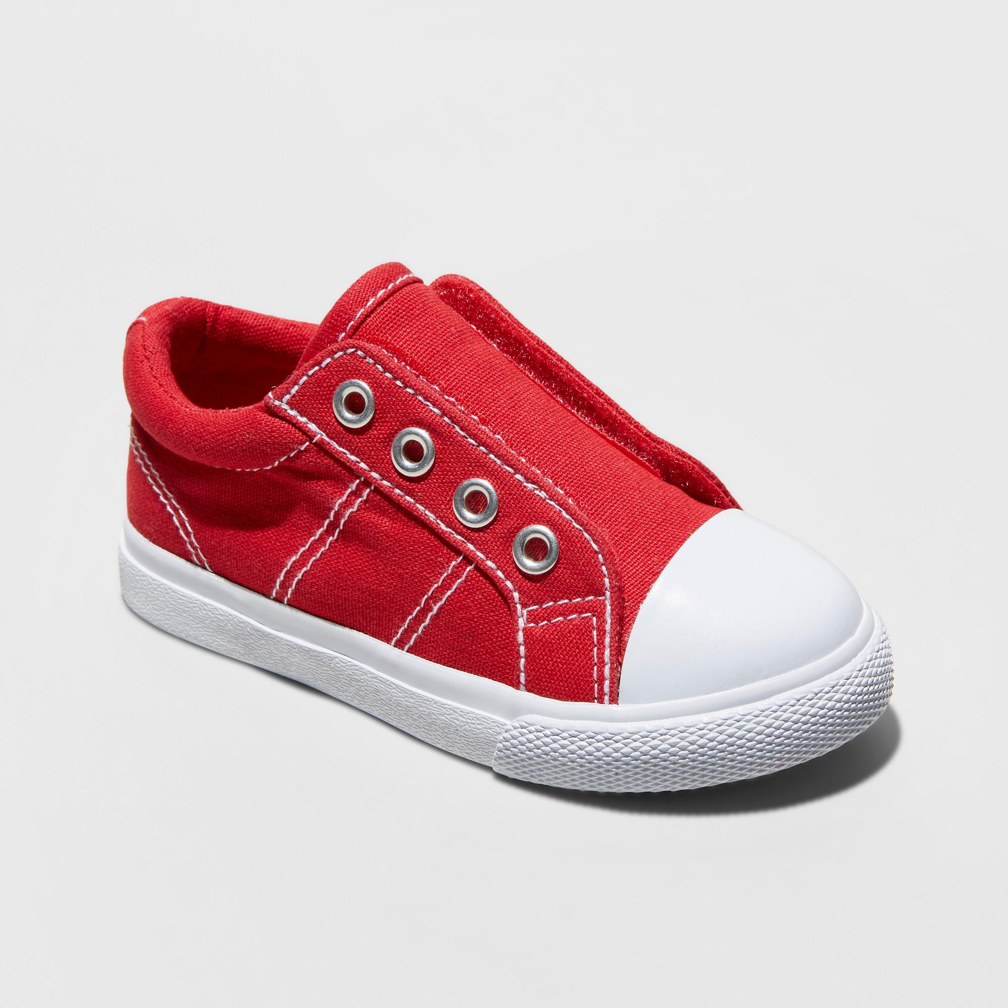 Toddler Boys Dwayne Cap Top Sneakers Cat & Jack Red 7