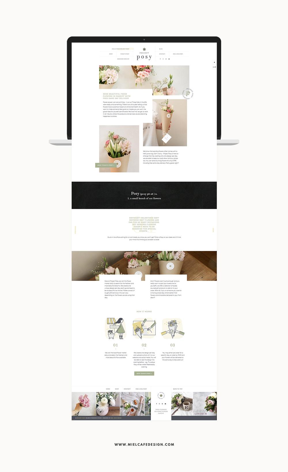 Portfolio Branding For Flower Delivery Project Posy Proekty Cvetochnye Magaziny Cvetochnyj