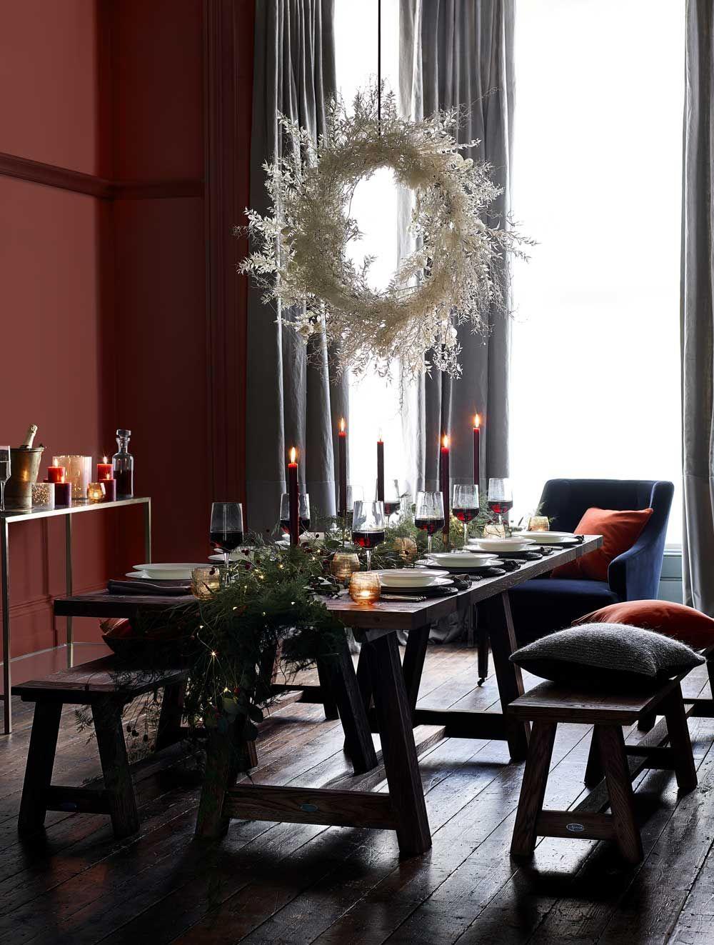 Tischdeko Weihnachten natürlich prächtig 10 Deko Tipps ...