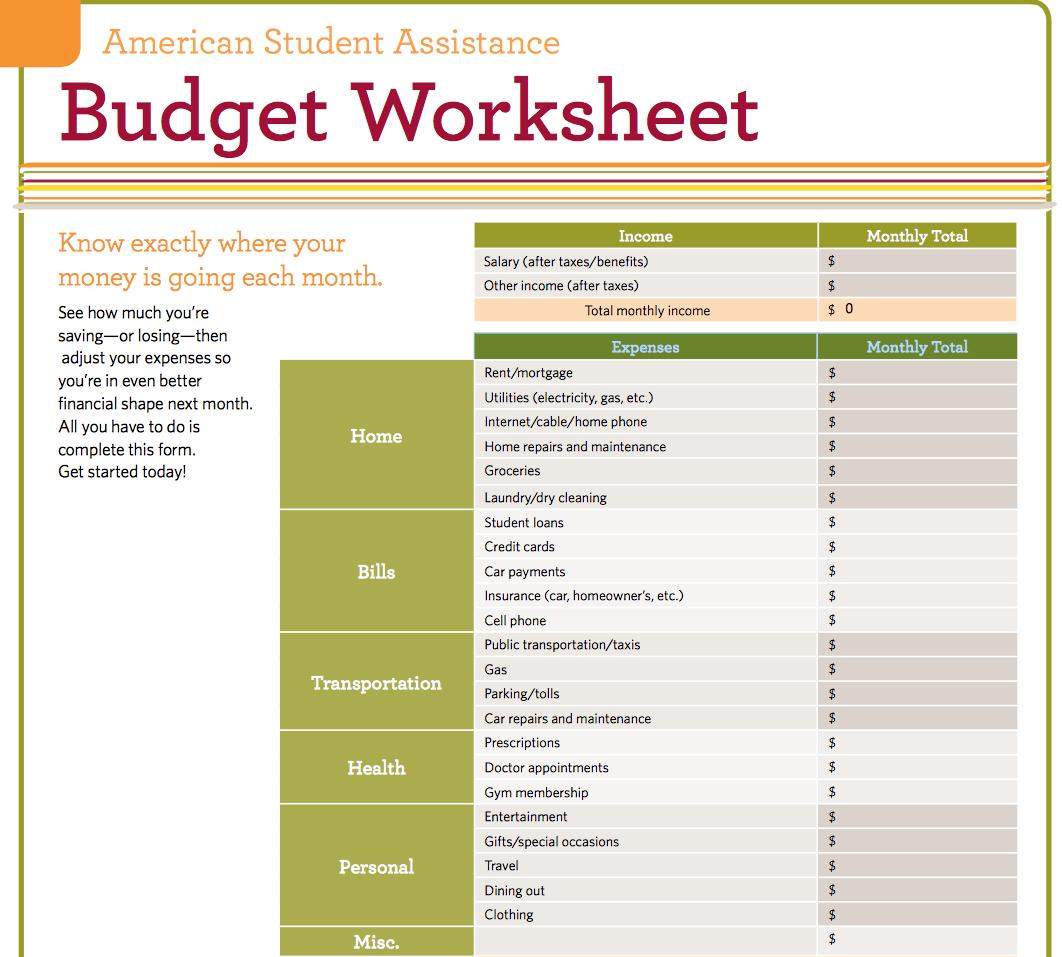 Best Budget Worksheets Budgeting Worksheets Personal Budget Template Personal Budget Spreadsheet [ 957 x 1062 Pixel ]