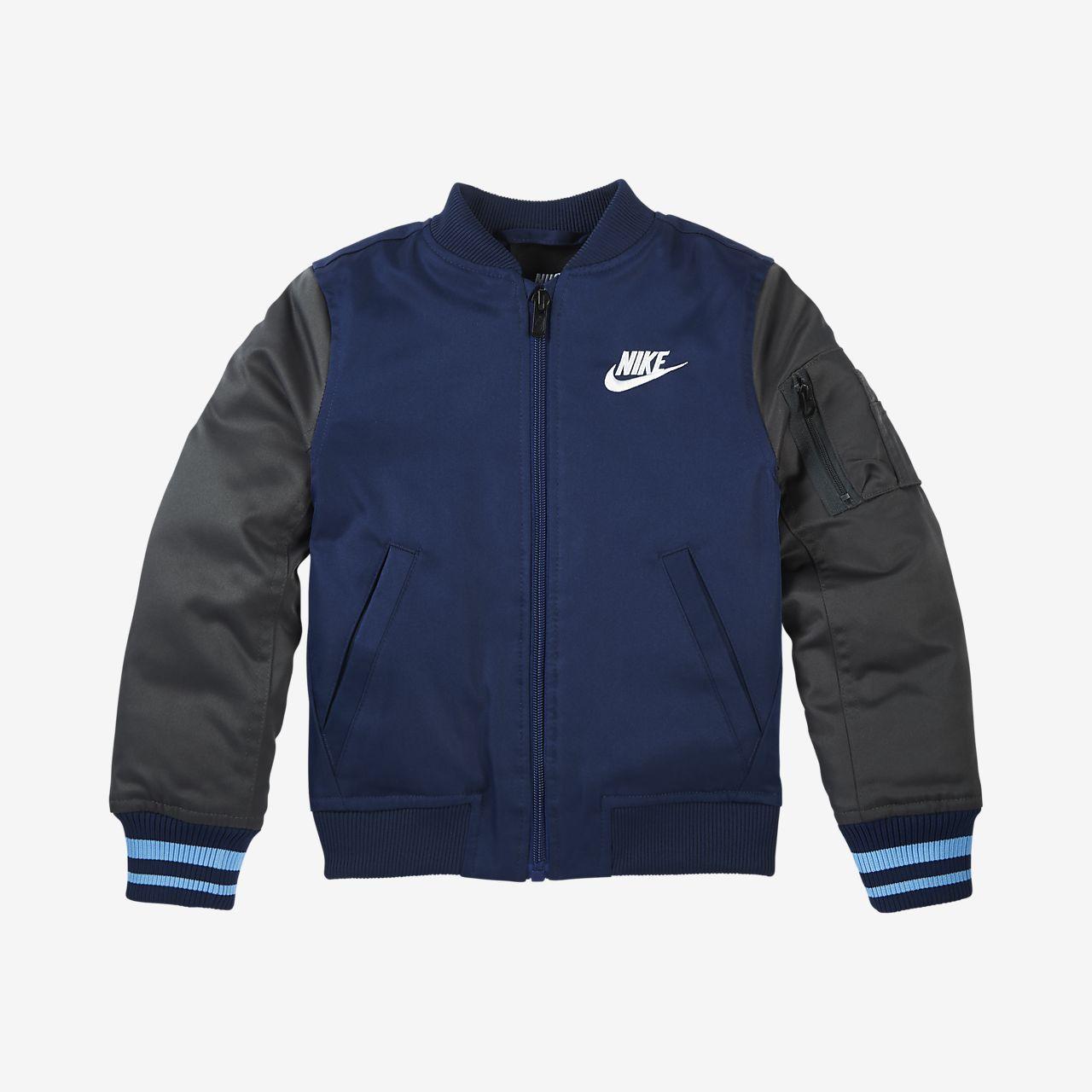 9f603a4f9 Nike Sportswear Varsity Toddler Bomber Jacket