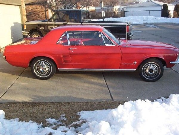 1967 Mustang Coupe Dream Cars Mustang 1967 Mustang Coupe