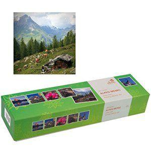 ebos mémo alpes, memory, jeu de mémoire de 72 cartes | 36 paires