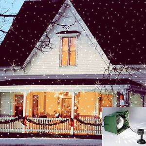 Light Flurries Projector Snowflake Christmas Ideas Outdoor Lights