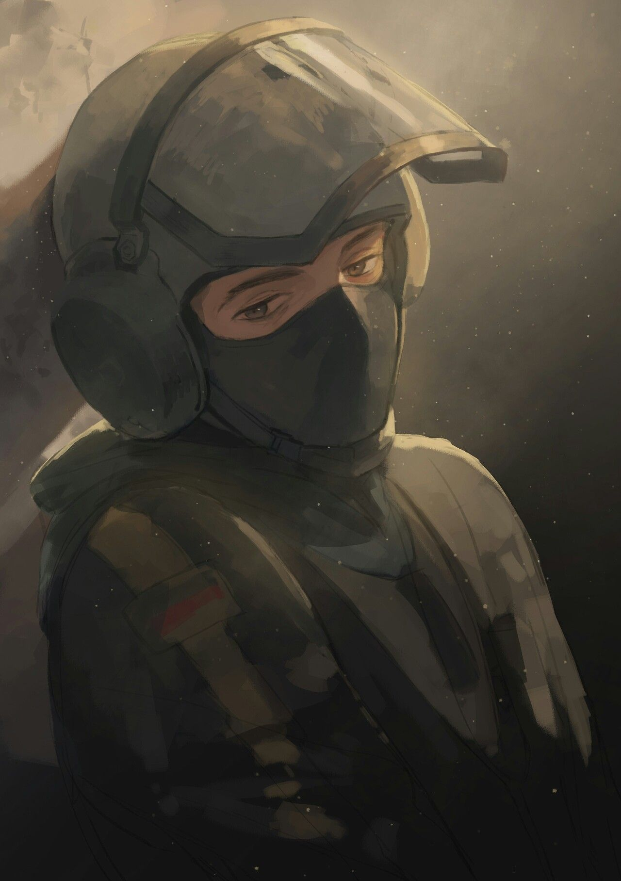gsg 9 operative bandit rainbow six siege pinterest rainbow six