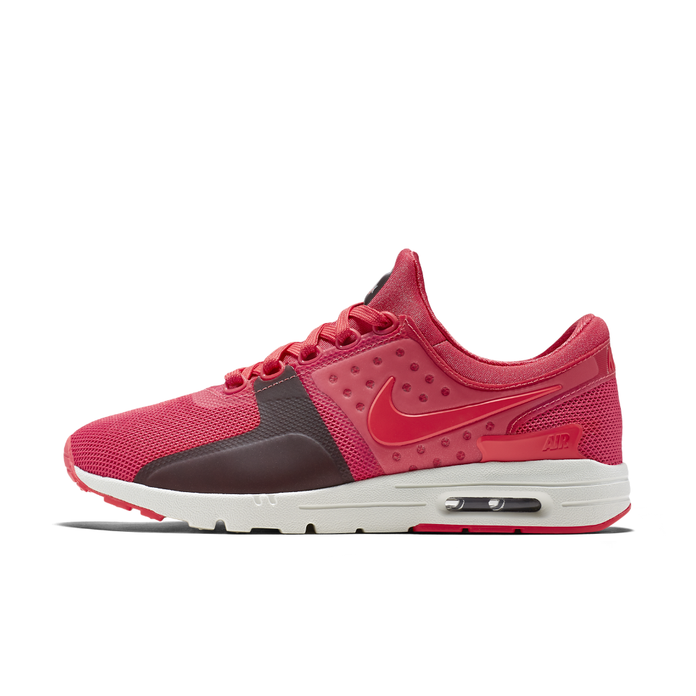 info for fad6c bccaf Nike Air Max Zero Women s Shoe Size 10.5 (Red) - Clearance Sale