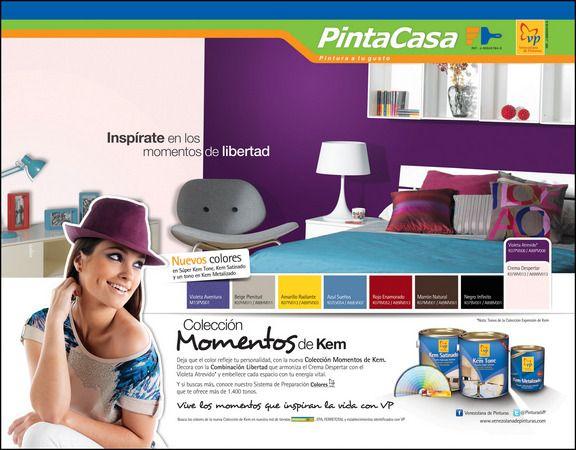 """Campaña """"Momentos"""" de KEM, para Venezolana de Pinturas, 2011"""