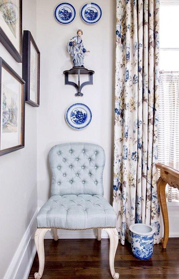 Eric Ross Interiors White Wall Decor Blue White Decor White Decor