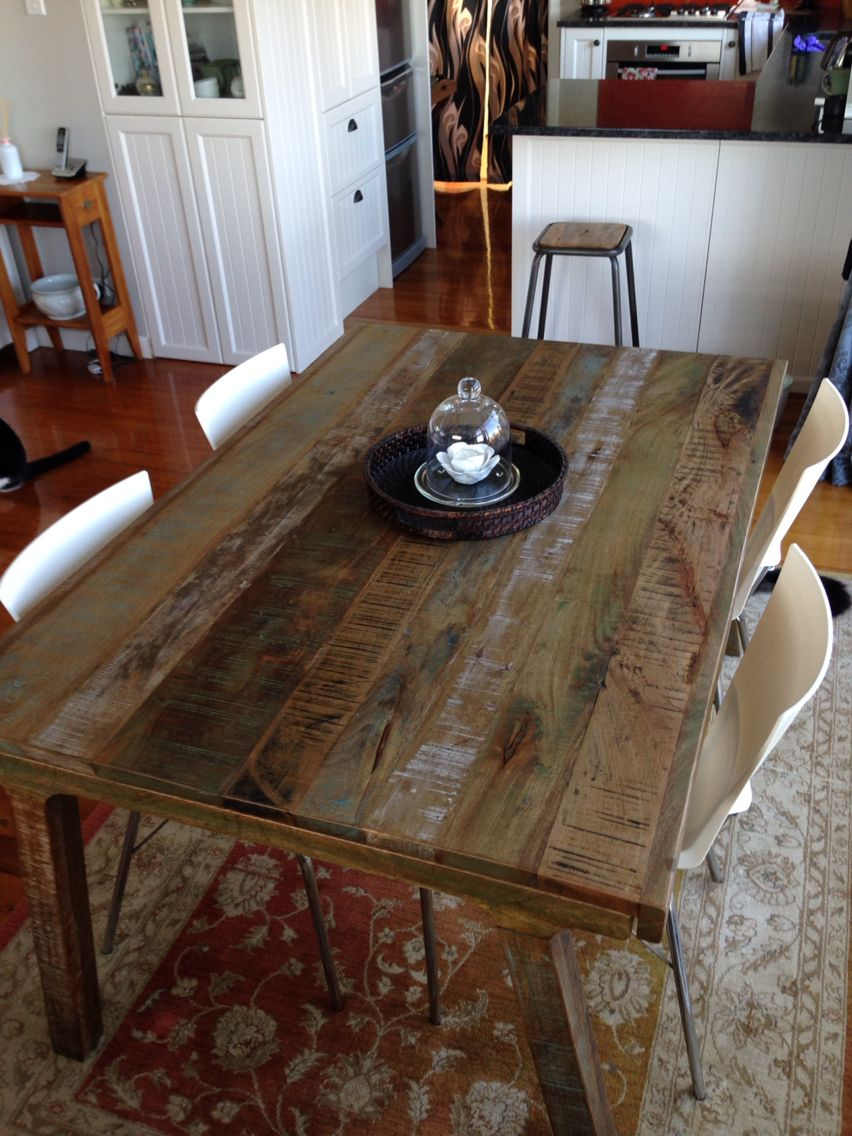My New Dining Table Scando From Vast Interiors Auckland