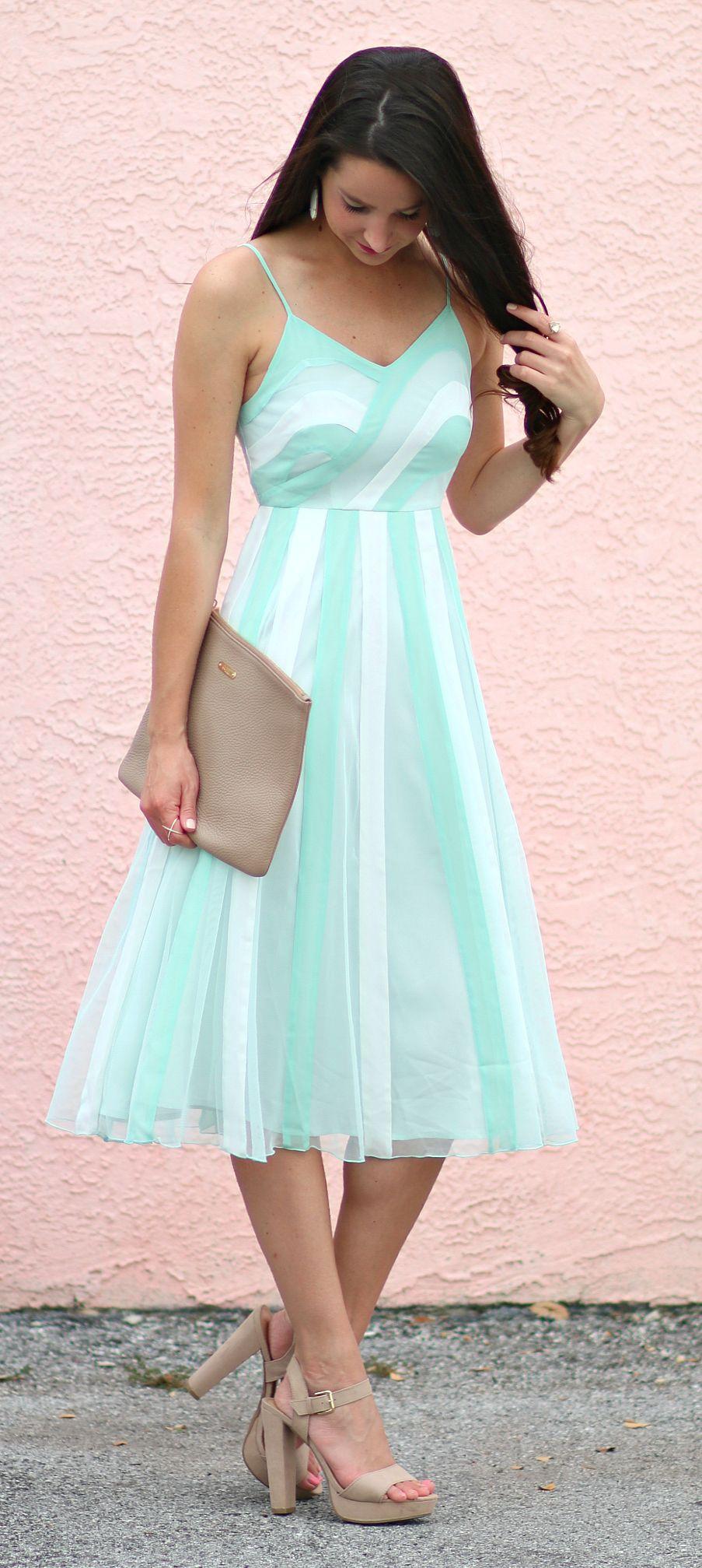 LC Lauren Conrad Spring Slip Dress