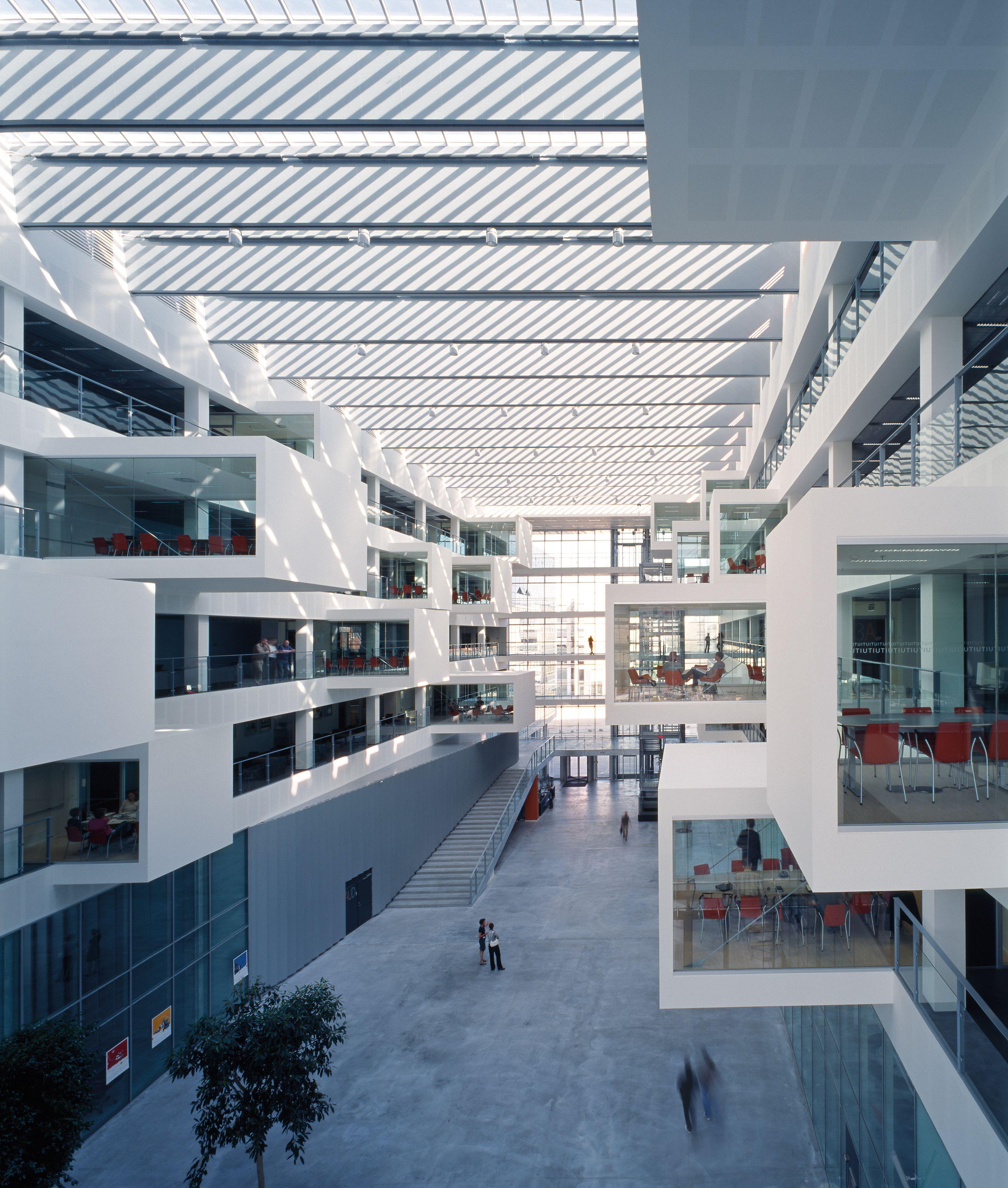 Interior Of The It University Of Copenhagen Henning Larsen Architects Itu Copenhagen