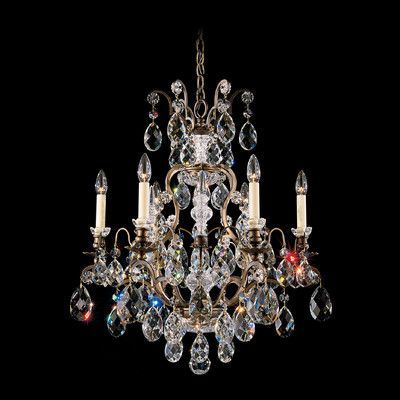 Schonbek New Orleans 45 Light Crystal Chandelier Finish: SILVER, Crystal Type: Heritage Clear