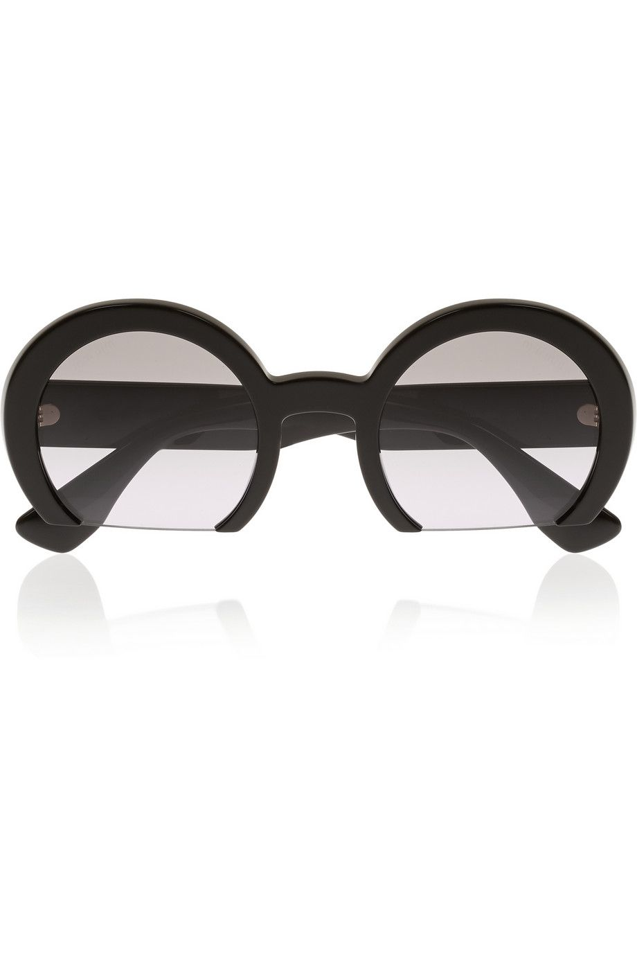 Miu Miu sunglasses with the bottom of the frame cut out? Yes please ...