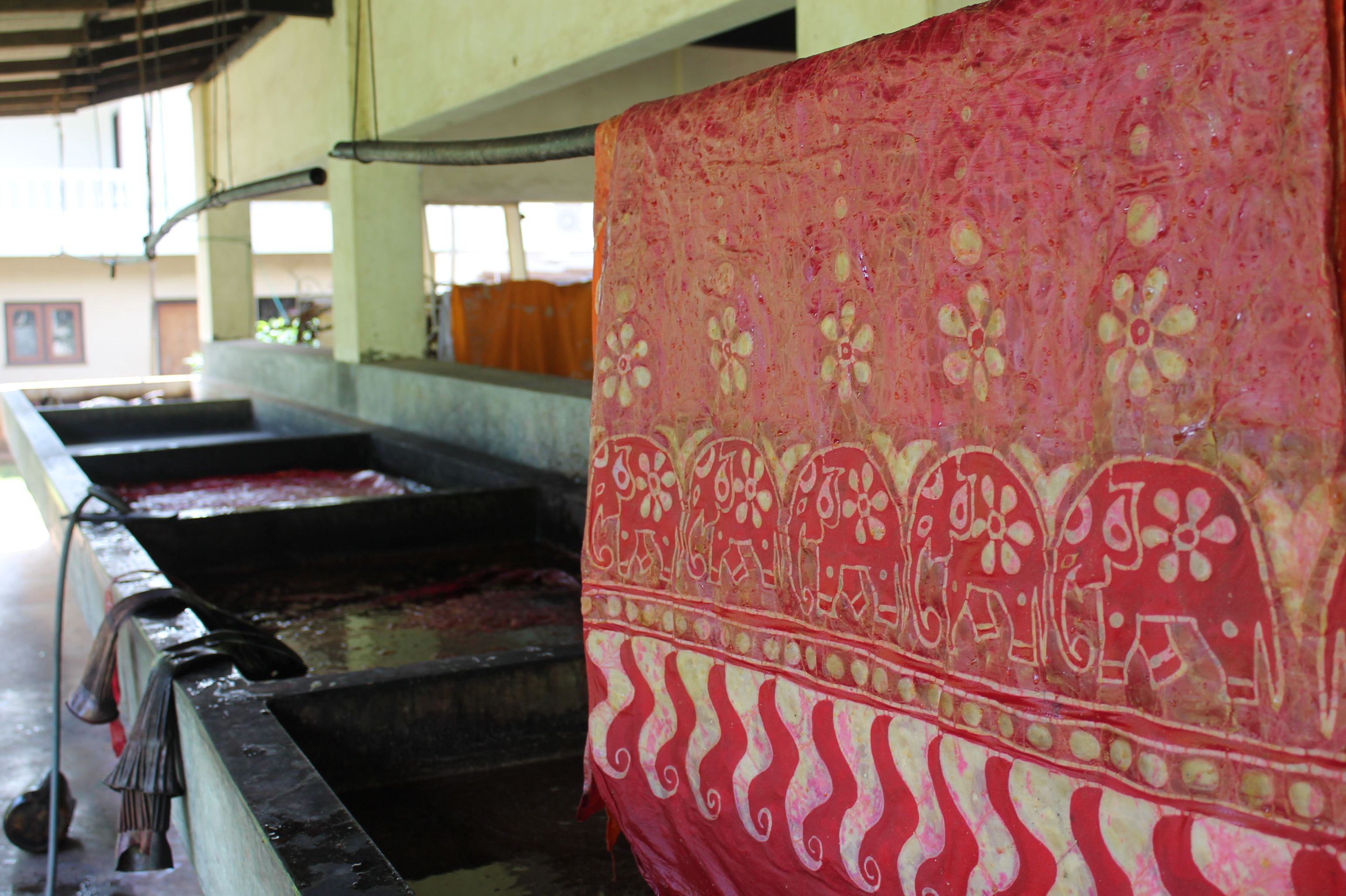 Batik Factory in Sri Lanka
