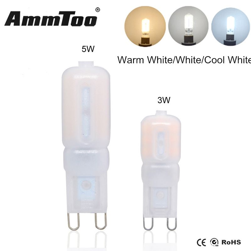 Mini G9 LED Lampe COB LED Ampoule 3 W 5 W 110 V 120 V 220 V LED G9 ...