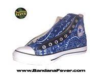 Bandana Fever Custom Printed Converse