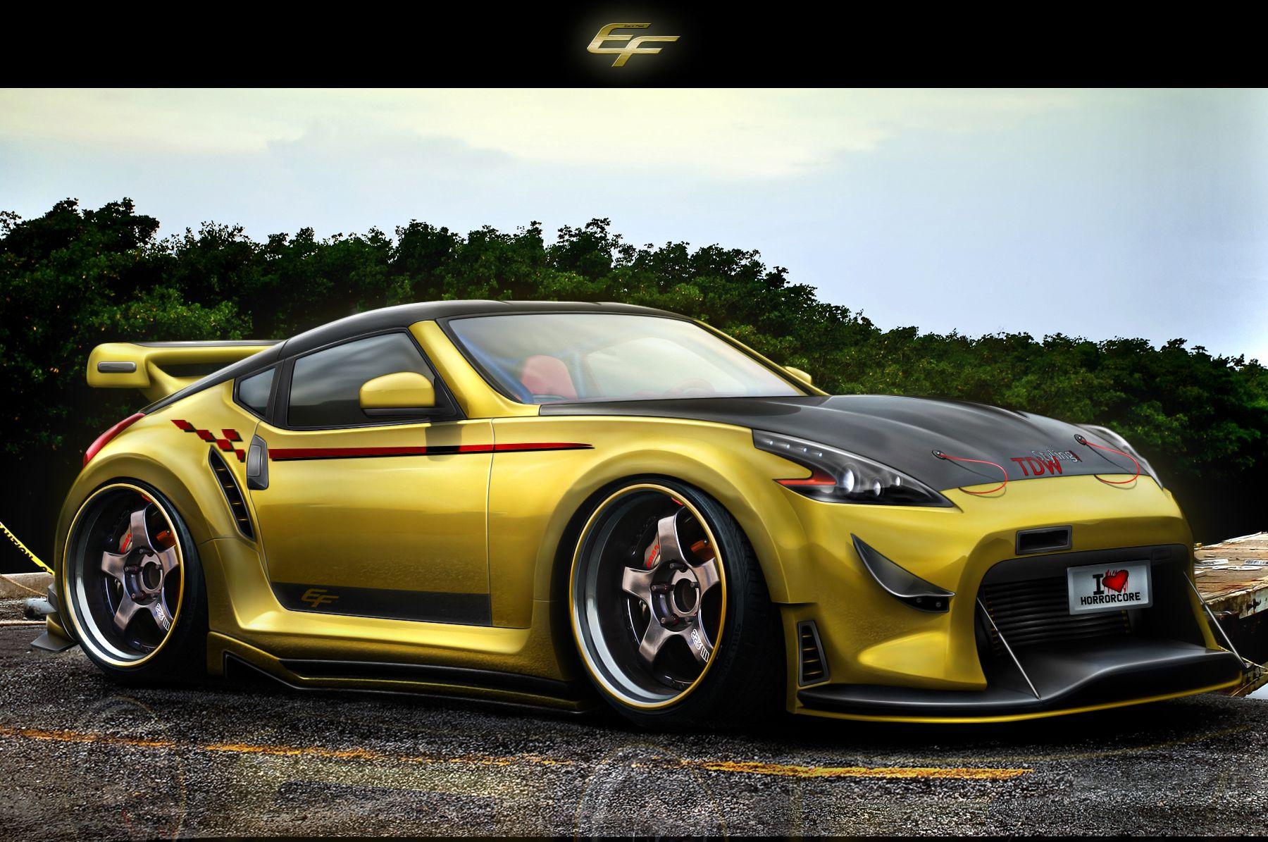 Nissan 370 Z by EmreFast.deviantart.com on @DeviantArt