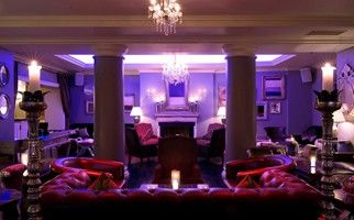 Suite lounge at the Grand Palace Hotel in Riga, Latvia #travel