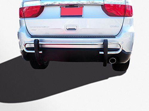 Kasei 080618ss Stainless Steel Rear Bumper Guard Double Tube Bumpers Crossover Cars Suv Accessories