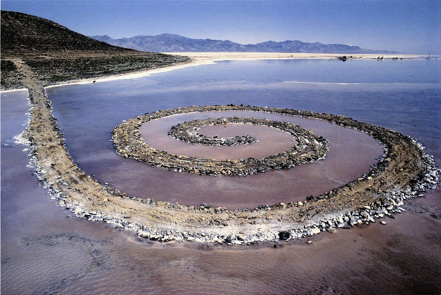 Robert Smithson's Spiral Jetty - Everything you need to know in ...