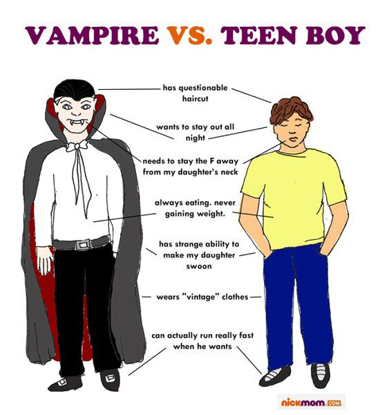 Vampire Vs. Teen Boy