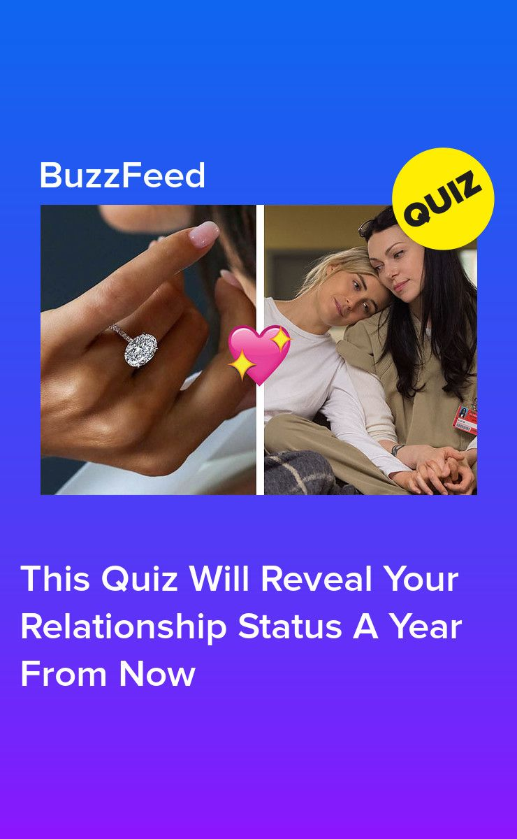 what will my relationship status be next year quiz