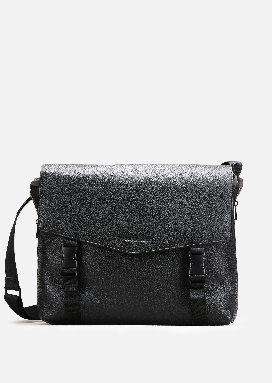 a99e9cba6752 EMPORIO ARMANI MESSENGER BAGS - ITEM 45367298.  emporioarmani  bags   shoulder bags  leather