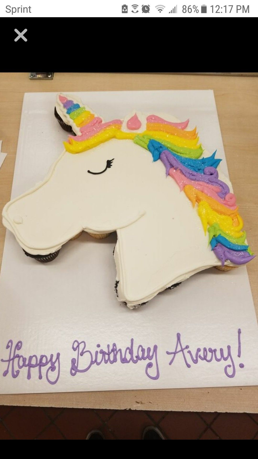 Pin By Kafayea Atiya On Cake With Images Unicorn Birthday Cake