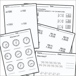 The Math Worksheet Site Subscription 23 00 This Site Features Numerous Printable Math Workshe Printable Math Worksheets Math Worksheet Teaching Mathematics
