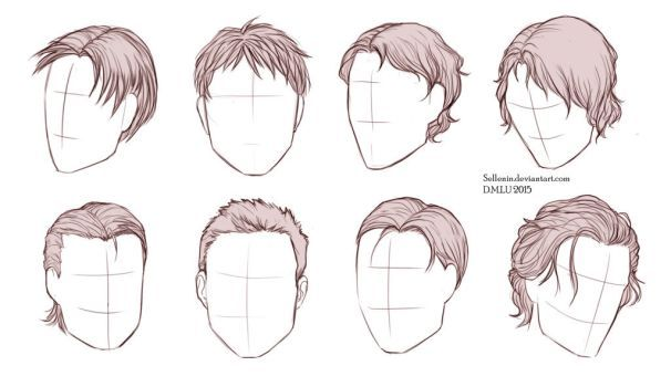 Some Hair Practice Art By Me More Hairstyles Step Face