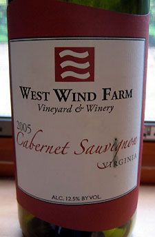 The '05 was blissful.  www.westwindwine.com #Saveur #Dinnerparty
