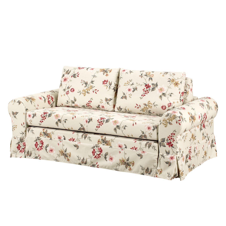 schlafsofa latina vi webstoff creme rot 165 cm. Black Bedroom Furniture Sets. Home Design Ideas