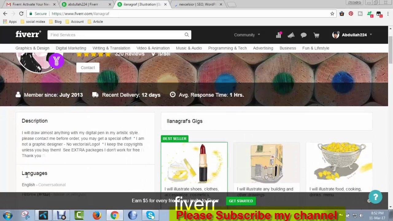 How to Create fiverr Account for bangla tutorial | How to