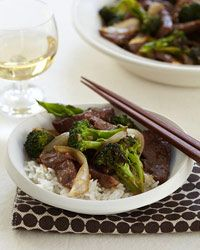 Chinese Crispy Beef with Broccoli Recipe from Food & Wine